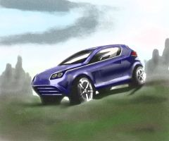concept SUV by akkigreat