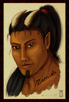 Zarniah Coloured Sketch For Mavrosh by Siobhan68