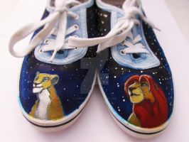 Lion King Shoes by Tawny-Arrow