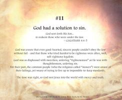 Bible Refresher 7 - Self-righteous Sheep by PoppyCorn99