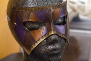 Masquerade Handmade Leather Mask by OsborneArts