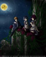 Moonlit Nightwalkers by Cobyfrog
