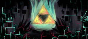 Triforce Drowning in the Twilight by Lexan777
