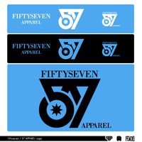 57 FiftySeven Apparel Logo by Royds