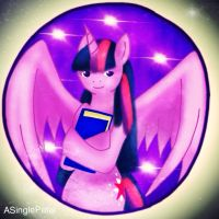 .: Princess Twilight Sparkle - Bubble :. by ASinglePetal