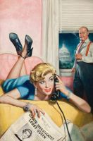 art from WHITE HOUSE CONFIDENTIAL by peterpulp