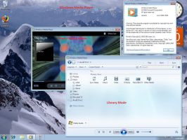 Windows 7 Media Player 12 by jakubblaz