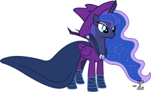 Princess Luna as Mare Do Well by 90Sigma