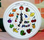 Fruity Clock by imyongyong