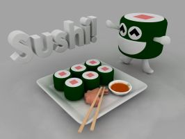 Sushi by TheAnimator0