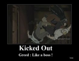Greed , Like a boss ! by KimxLee