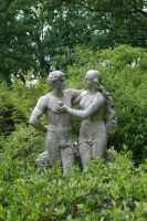 adam and eve statue 2 by objekt-stock