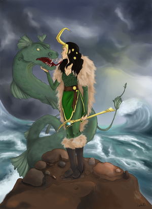 Lady Loki and Jorgumnand