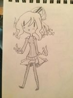 Undertale OC sketch 3 by xDoki-Dokix