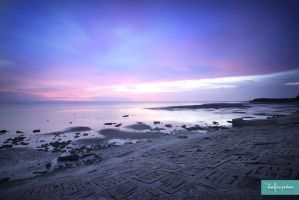 Pantai Morib by bluealbum