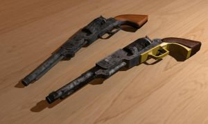 Colt Wlaker by 3DPad