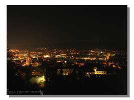 Marburg at Night by WillFactorMedia