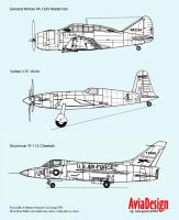 Prototype USAF fighters by Bispro