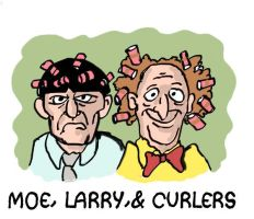 Hair-Brained Comedians by Smigliano