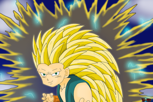 Super Saiyan 3 Kid Trunks by Toxic-Mario