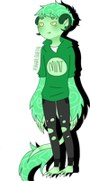 Lynn the Mint Cake Demon by orchidi