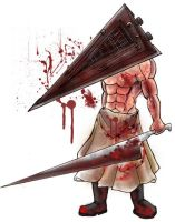 Pyramid Head Chibi by daunted