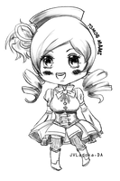 Chibi Tomoe Mami Sketch by JVladoka