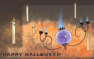 Happy Halloween 2 by Thunderwest