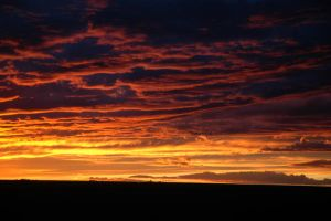 Sunset in Colorado by kargen27
