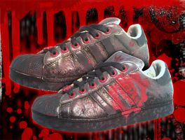 Shoes: Gears of War by GAME-OVER-CUSTOM