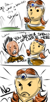 Duel Casting by FeatheredSoap