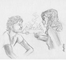 Stephanie and Joseph by tereseh