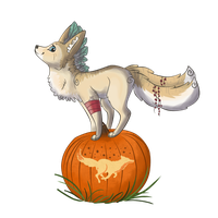 Kiri found a pumpkin by D-eer