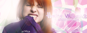 Hayley Williams Signature by Tiinkerbellx3