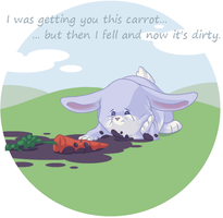 A carrot for you. by Feyrah