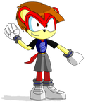 Mark the Mongoose for JerrythePlayer360 by Thesupernintendokid