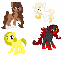 Themed Adopts 18-21 by TheRealRiiver
