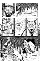 Reprisal, Page 2, inked by VikThor