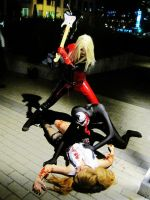 Venom and Harley, Bridging the Gap by cbombshell