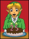 Zelda's 25th Anniversary by kimya