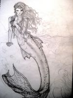 Mermaid pencil by koukidoo