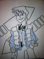Sketch 21: Marty McFly by pascalscribbles