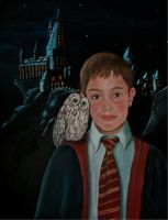 Henning at Hogwarts -Team Work by Vulkanette