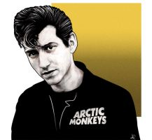 Alex Turner by SouthWolfie
