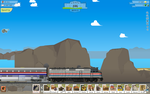 My TrainSation F40PH by BNSF