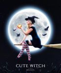 Cute Witch by Pincons