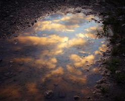 Just a puddle by MOEYart
