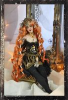 Bjd art doll Fantasy Steampunk by SutherlandArt
