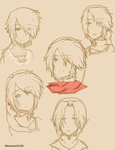 Link sketches by MariaCool1234
