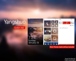 Yangshuo WP8.1 Theme by saracennegative